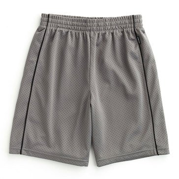 Jockey Big Boys' Mesh Basketball Shorts, Grey