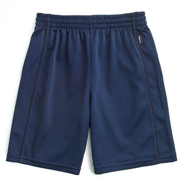 Jockey Big Boys' Mesh Basketball Shorts, Navy
