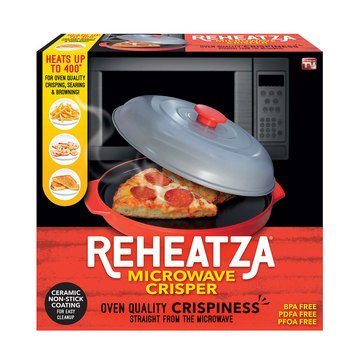 As Seen On TV Reheatza Microwave Crisper