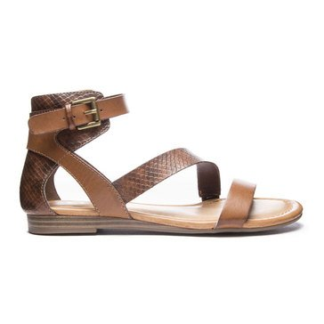 Chinese Laundry Keystone Ankle Strap Sandal Brown