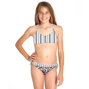 Billabong Big Girls' 2-Piece Ditsy Soul Crossback Swimsuit