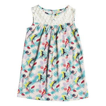 Roxy Little Girls' Single Soul Knit Dress, Tropical Peach