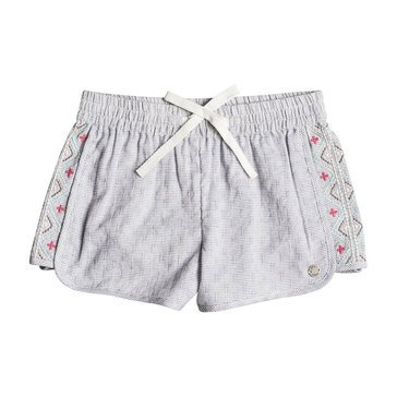 Roxy Little Girls' Wealthy and Wise Short, Deep Cobalt
