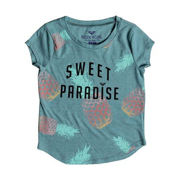 Roxy Little Girls' Sweet Treat Fashion Tee, Aquarelle