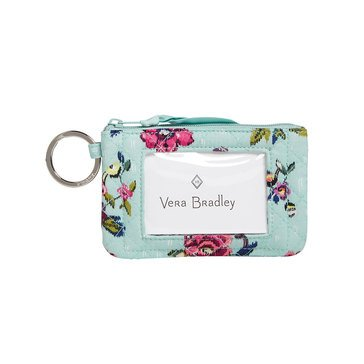 Vera Bradley Zip ID Case Water Bouquet