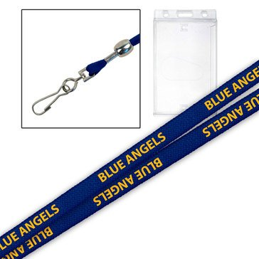 MCM Blue Angels Side Slide Lanyard