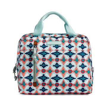 Vera Bradley Lighten Up Lunch Cooler Water Geo