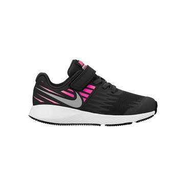 Nike Girls Star Runner Running Shoe (Little Kid)