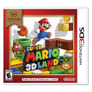 3DS Nintendo Selects: Super Mario 3D Land 2/5/2018