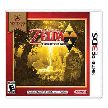 3DS Nintendo Selects: The Legend of Zelda: A Link Between Worlds 2/5/2018