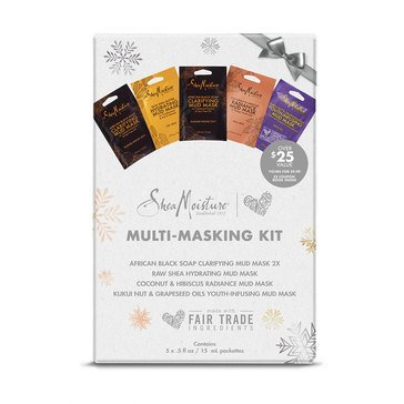 Shea Moisture Multi-Masking Holiday Gift Set