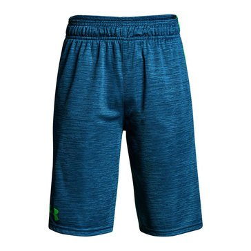 Under Armour Big Boys' Stunt Printed Short, Blue