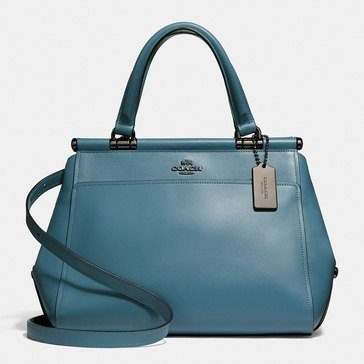 Coach Grace Satchel Bag Chambray