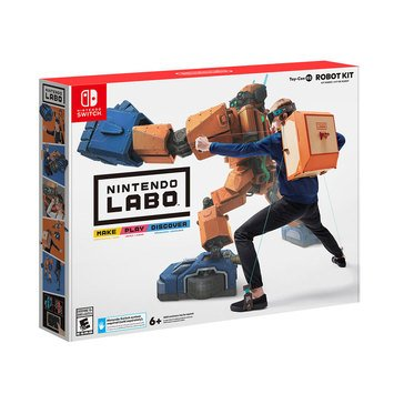 Nintendo Labo Toy-Con 02: Robot Kit for Nintendo Switch 4/20/18