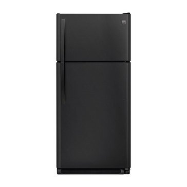 Kenmore 18.1-Cu.Ft. Top Freezer Refrigerator, Black (46-60819)