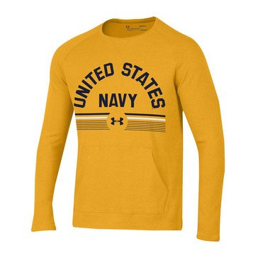 Under Armour Men's Aviator Waffle Novelty Crew Tee with USN Design