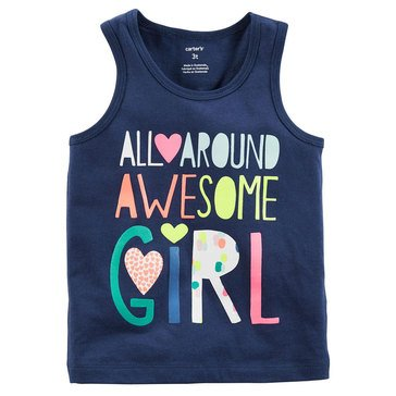 Carter's Toddler Girls' All Around Girl Tank