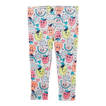 Carter's Toddler Girls' Citrus Print Leggings