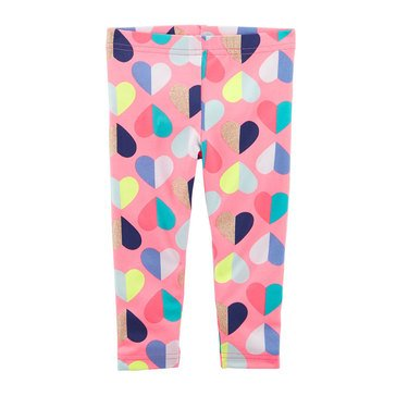 Carter's Toddler Girls' Heart Print Leggings