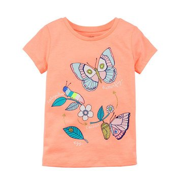 Carter's Toddler Girls' Butterfly Tee