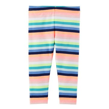 Carter's Toddler Girls' Multi Stripe Leggings