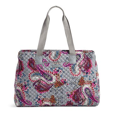 Vera Bradley 3 Compartment Travel Bag Heritage Paisley