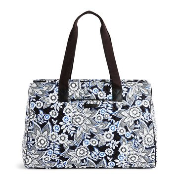 Vera Bradley 3 Compartment Travel Bag Snow Lotus