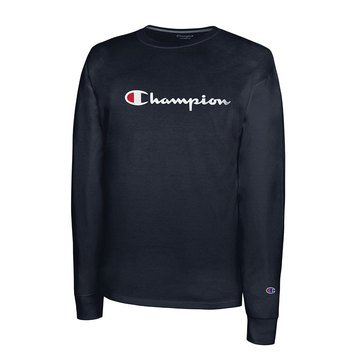 Champion Men's Graphic Long Sleeve Tee