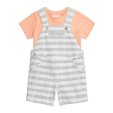 First Impressions Baby Boys' Tribal Stripe Shortall, Bright White