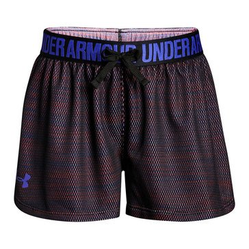 Under Armour Big Girls' Play Up Novelty Short, Black