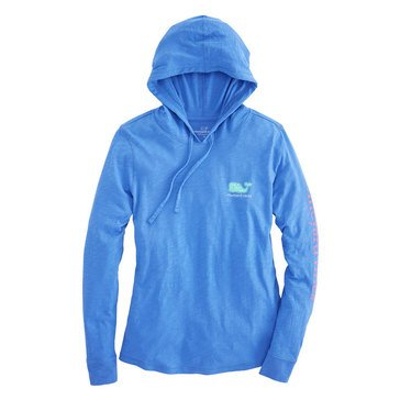 Vineyard Vines Long Sleeve Vintage Slub Hoodie In Marlin