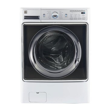 Kenmore Elite 5.2-Cu.Ft. Smart Front-Load Washer, White (26-41982)