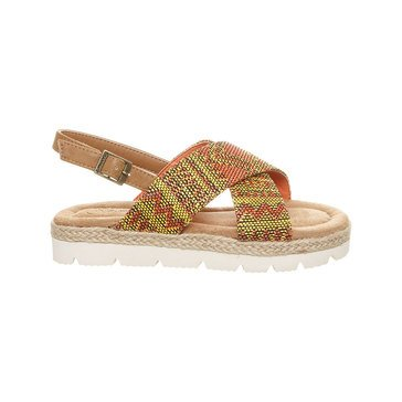 Bearpaw Raelynn - Girl's Strappy Sandal-Yellow