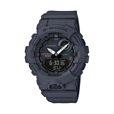 Casio Men's G-Shock G-Squad Black Smartwatch, 48.6mm