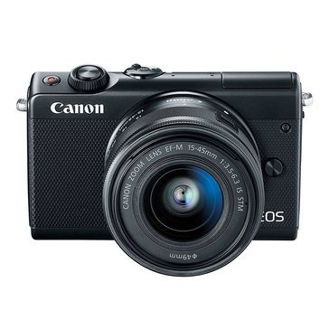 Canon EOS M100 Mirrorless Digital Camera with 15-45mm Lens Kit