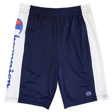 Champion Big Boys' Script Mesh Shorts