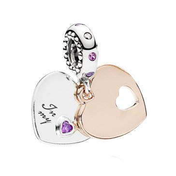 Pandora Rose Part of My Heart Dangle Charm