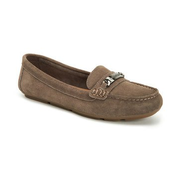Calvin Klein Lunasi Suede Loafer Army Fatigue