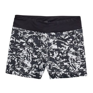 Jockey Women's Glass Shard Printed Bike Shorts