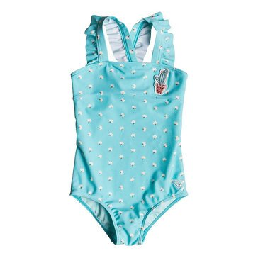 Roxy Little Girls' Baby Saguard One Piece, Blue