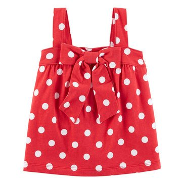 Carter's Toddler Girls' Polka Dot Knit Top