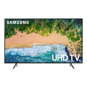 "Samsung UN43NU7100 43"" 4K/UHDTV 120MR(60Hz), HDR, PurColor, Clean Cable Solution, 1 Remote"