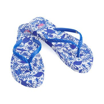 Vineyard Vines Women's Otami Printed Flip Flop In Yacht Blue