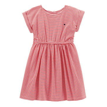 Carter's Little Girls' Tulip Back Knit Dress