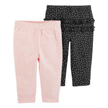 Carter's Baby Girls' 2-Pack Pant Set