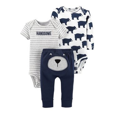 Carter's Newborn 3-Piece Turn Me Around Set
