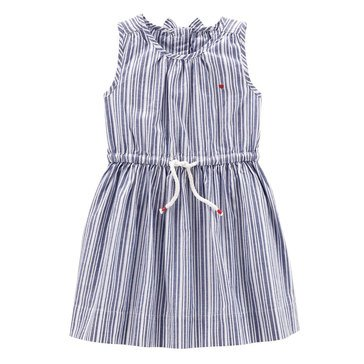 Carter's Toddler Girls' Stripe Woven Dress