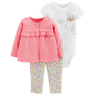 Carter's Baby Girls' 3-Piece Set