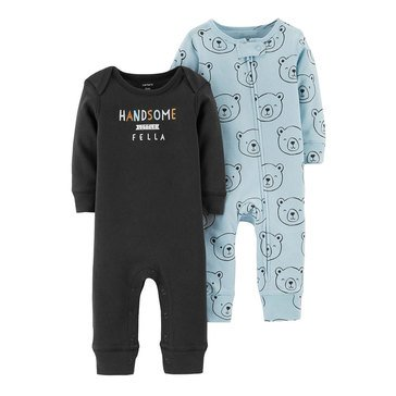 Carter's Baby Boys' 2-Pack Coverall Set