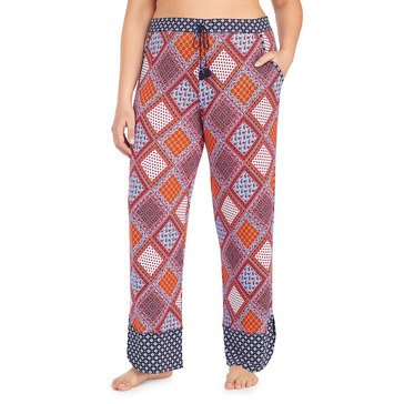 Layla Women's Heart & Sould Printed Cropped Pants - Women's Plus
